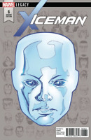 ICEMAN #6 MCKONE HEADSHOT VARIANT MARVEL LEGACY COMICS X-MEN