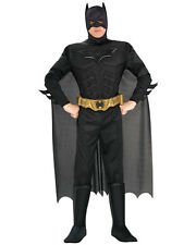 Deluxe Batman Adult Costume Batman the Dark Night Rises Superhero Size Large