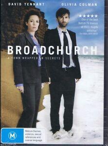 BROADCHURCH (3 x DVD Set) David Tennant & Olivia Colman NEW & SEALED Free Post