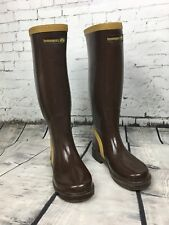 Havaianas Wellington Wellie Boots Brown - Size 36 / UK 3.5