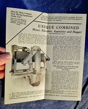 c.1920 Robinson Manufacturing Co, Muncy PA: Antique Flyer Farm Equip Feed Mixers