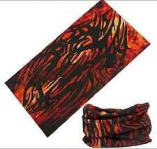 Magic Bandana Mask Tube Neck Warmer Face Mask Scarf Snood Balaclava - Black
