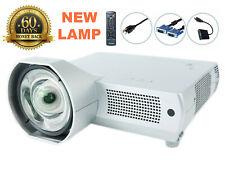 NEW Lamp - Promethean PRM-20AV1(S) LCD Projector Short-Throw HDMI-adapter bundle
