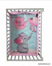 Baby Elephant Set Bedding Sheet Comforter Dumbo Shower Gift Nursery Best Seller