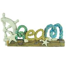 "Boat ""Dream"" Word Sign Sculpture - Rope Design - Sea gull For Great , Cute Gift!"