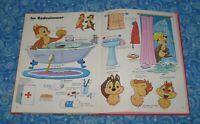 German English Translation Book 1975 Vintage Disney Mein groBes Worterbuch