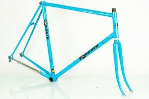 ROSSIN GHIBLI FRAME VINTAGE ROAD BIKE 90s STEEL 57 58 LARGE COLUMBUS SLX BICYCLE