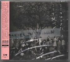 AKB48: Koko ga rhodes da (2015) 2-CD & PHOTO CARD TAIWAN SEALED