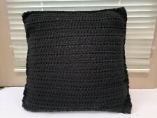 Vintage Knitted Crochet Pillow Case Sofa Waist Throw Cushion Cover Home Decor
