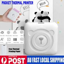 Mini BT Wireless POS Portable Photo Printer Pocket Mobile Thermal 57mm AU