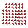 50pcs 2cm Polyhedral Four Sided Dice Set Table Games D4 D&D TRPG Colors Dice