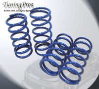 Front and Rear Lowering Spring 4pcs Mits Lancer Evolution 8 EVO VIII 2001-2007
