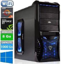PC Gamer - Ryzen - Quad Core Turbo 4 x 3.7 GHz -1000Go - Ram 8 Go - Wifi N - X11