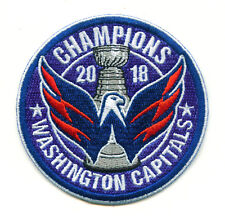 🔥 HOT! 2018 WASHINGTON CAPITALS NHL Hockey Stanley Cup CHAMPIONS Iron-on PATCH!