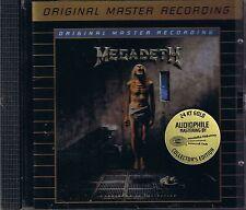 Megadeth Countdown to  Extinction MFSL GOLD CD NEU OVP Sealed UDCD 765 OOP