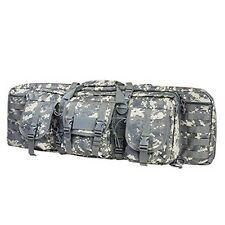 "NcStar Tactical 36"" Digital Camo ACU Padded Double Carbine Rifle Gun Case Bag"
