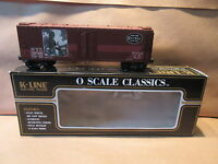K-Line 62-7482 NYC O-Scale Historical Art Classic Woodsded Reefer Train