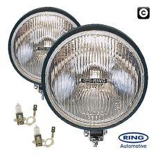 Ring 12v Car 4x4 Van Round Driving Halogen Spot Lamps Lights - Pair