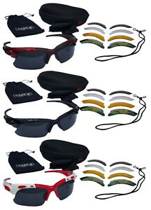 CHEX Europa Cricket Sunglasses Sports Glasses 5 Various Interchangeable Lens