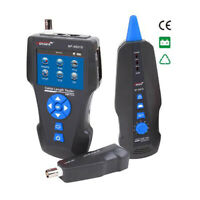 NF-8601S Network Cable Tester Tracker RJ45 RJ11 POE+PING+Voltage detector