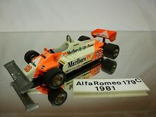 TENARIV - ALFA ROMEO 179   KIT (built) - MARIO ANDRETTI F1 1:43 - NICE CONDITION