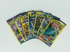 Pokemon Sun & Moon 7 Unopened Booster Packs Unified Minds, Team Up Pick & Choose