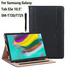 NEW Case Samsung Galaxy Tab S5e 10.5 2019 T720/T725 Magnetic Leather Wallet Cove