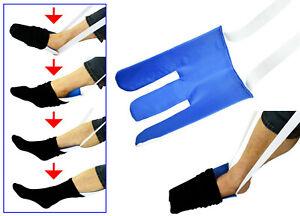 Sockenanzieher Strumpfanziehilfe Strumpfanzieher Frottee Anziehhilfe Socken
