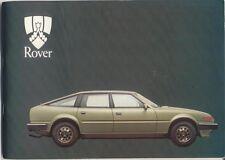 Rover SD1 2000 2300S 2600S 1981-82 Original Handbook In English AKM 5105