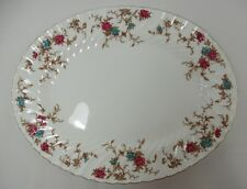 Minton Ancestral Wreath Stamp S376 12 inch Oval Serving Platter