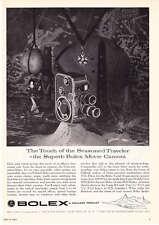 1957 Bolex 8 mm B-8 Movie Camera photo vintage promo print ad