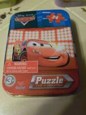 Disney Pixar CARS 24 pc Puzzle in a TIN 3+ NEW