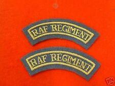 New RAF Mess Dress Badges RAF REGIMENT (Mud Guards)