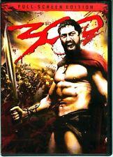 "DVD ""300"" Ancient Battle of Thermopylae Greek King Leonidas Persian King Xerxes"