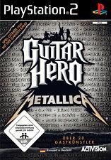 Guitar Hero: Metallica (Sony PlayStation 2, 2009) PS2