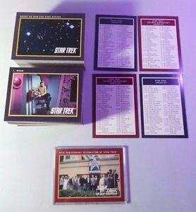 Star Trek: Original & Next Generation 1991 Paramount 310 Card COMPLETE Set NM/MT