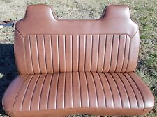 Holden Hq Hj Hx Hz Wb Bench Seat re trimmed in original Holden  chestnut colour