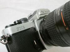 Silver NIKON FM2 SLR Camera, Nikkor 35-70mm 1:3.3-4.5 Lens ~Mint~
