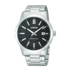"OROLOGIO LORUS ""URBAN"" ACCIAIO SILVER/BLACK RS941AX9 - NEW (LIST. € 54,90)"