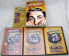Sid Caesar Collection The Buried Treasures 3 DVDs Box Set Bonus Sketches