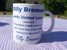 Billy Bremner Leeds United Cult Hero tribute mug 11oz original (brand new)