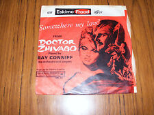"Dr. Zhivago  Somewhere My Love / Camelot   Ray Conniff  &  Percy Faith  7"" Vinyl"