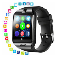 Q18 bluetooth Smart Wrist Watch SIM GSM Phone Call Health Mate For Android IOS