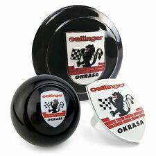 Okrasa Crest 3Pcs Kit - Horn Button, Hood Crest, & 10mm Shift Knob VW Bus Bug +