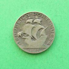 1942 Portugal Silver 2 1/2 Escudo SNo56635