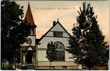 PORT ALLEGANY, Pennsylania  PA   FIRST BAPTIST CHURCH  1910    Postcard