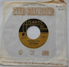 *THE EARLS Remember then / BILLY BLAND Let the.. NM- CANADA GOLD STANDARD 45 7""