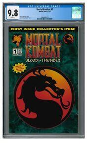 Mortal Kombat #1 (1994) Key 1st Issue Malibu Comics CGC 9.8 JZ123