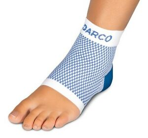 Darco DCS Plantar Fasciitis Sleeve, Supportive Arch Compression, DCS-PF, Blue