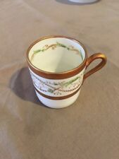 RICHARD GINORI La Scala After Dinner Coffee Cup (1 piece) PERFECT CONDITION